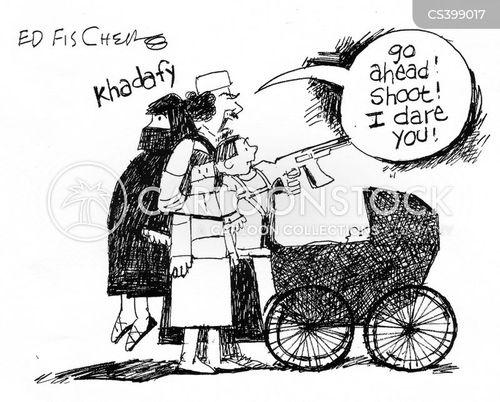kadhafi cartoon