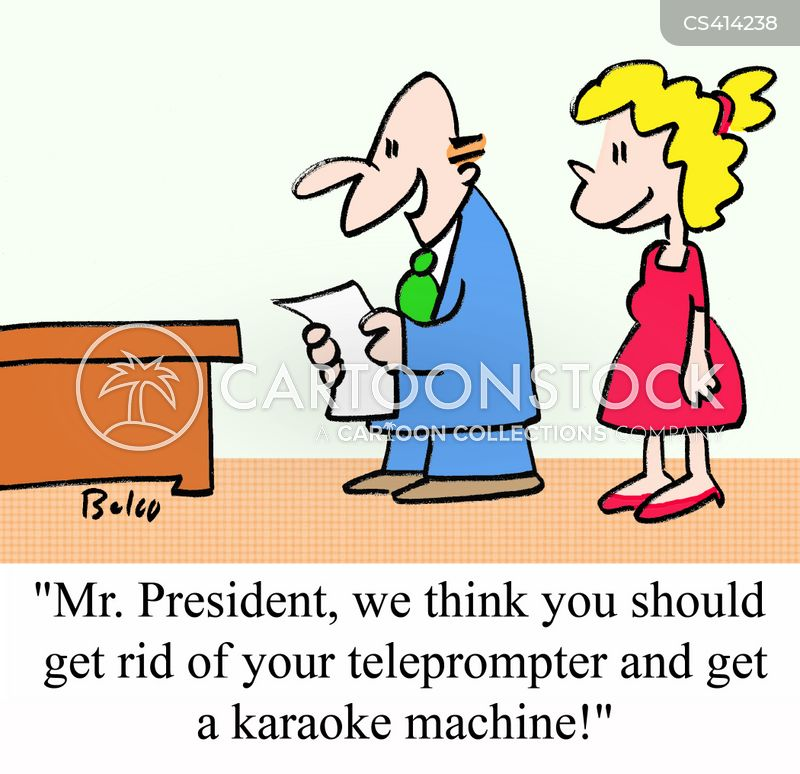 karaoke machines cartoon