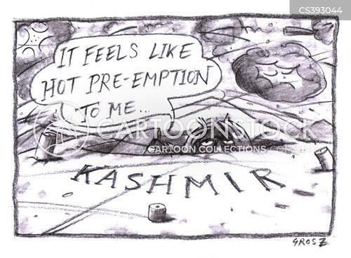 pre-emptive strike cartoon