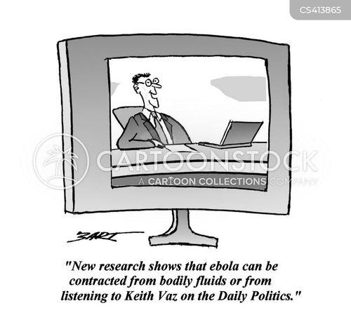 ebola virus cartoon