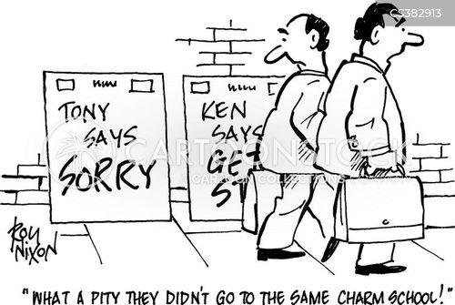 aplogies cartoon