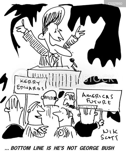 election campiagn cartoon
