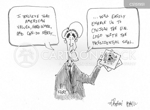 presidential seal cartoon