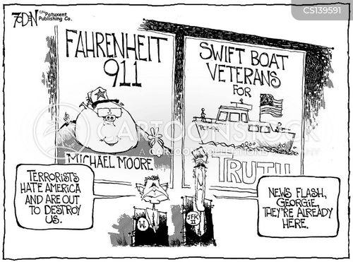 swift boats cartoon