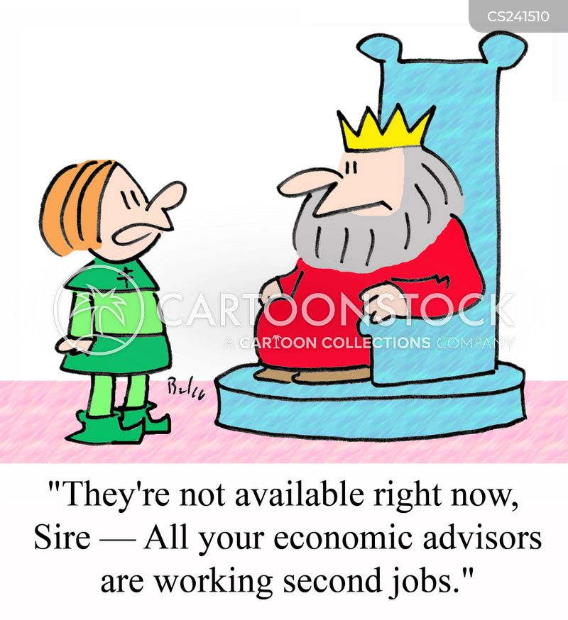 economic advice cartoon