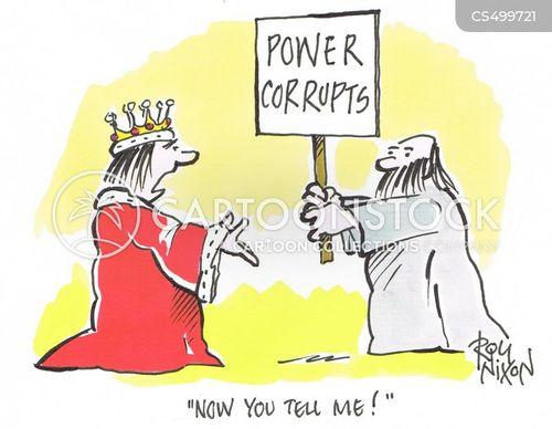 absolute power cartoon