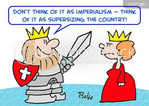imperial cartoon