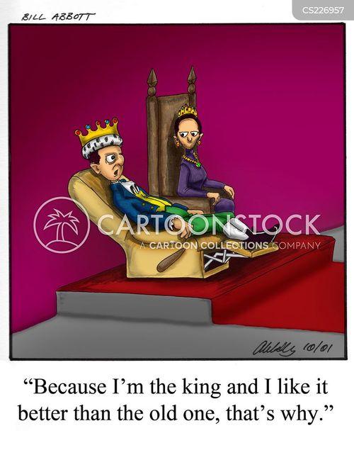 comfy chairs cartoon