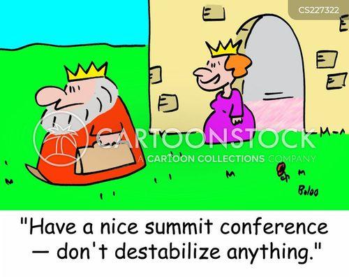 destabilise cartoon
