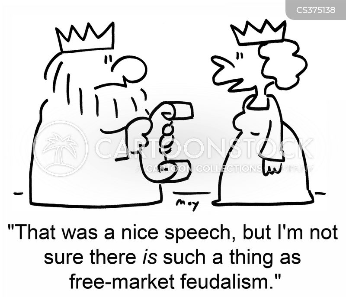 feudalism cartoon