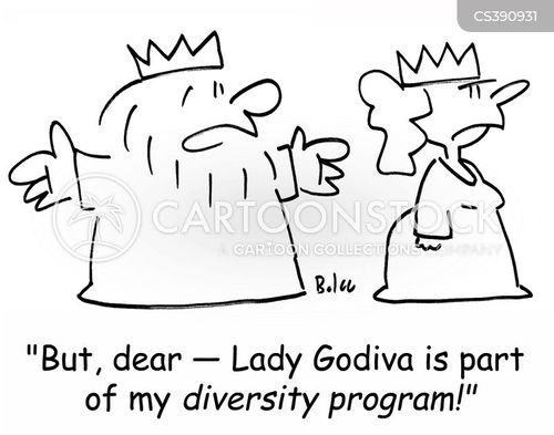 diversity programme cartoon