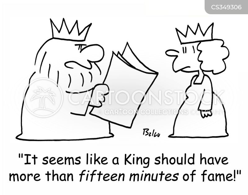 five minutes of fame cartoon