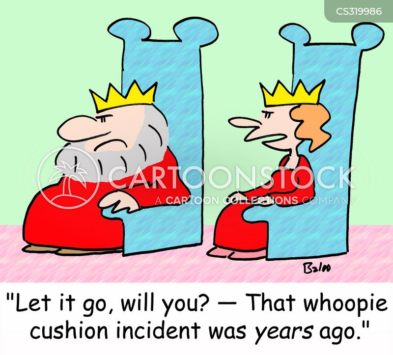 whoopie cushion cartoon