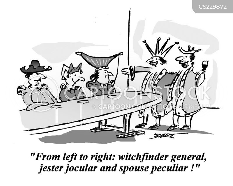 witch finders cartoon