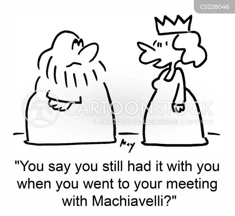 machiavelli cartoon