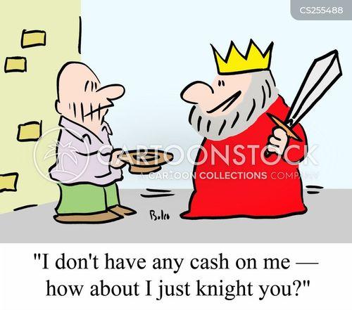 royal treasury cartoon
