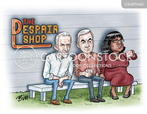 labour defeat cartoon