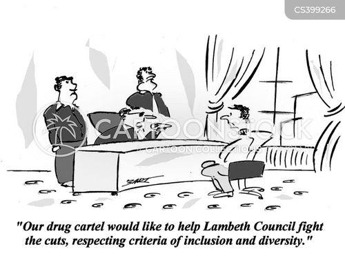 city politics cartoon