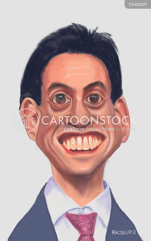 labour leader cartoon