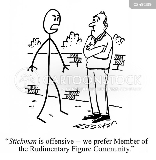 stickmen cartoon