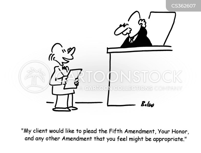 5th Amendment Cartoon