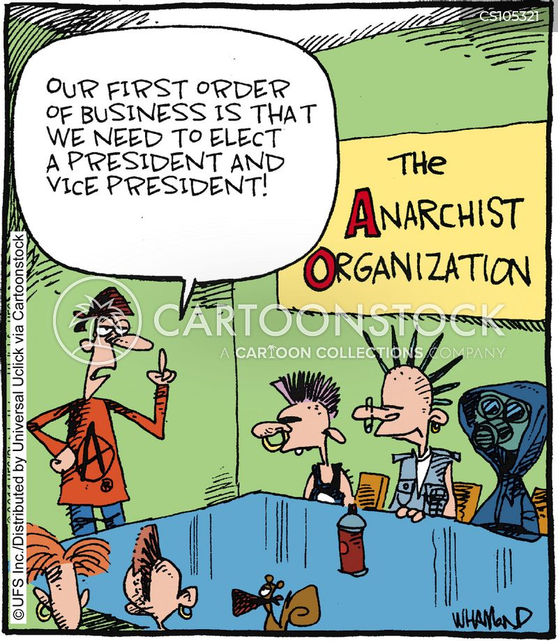 Anarchist Cartoons and Comics - funny pictures from CartoonStock