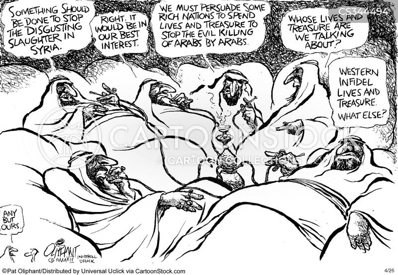 arab spring cartoon