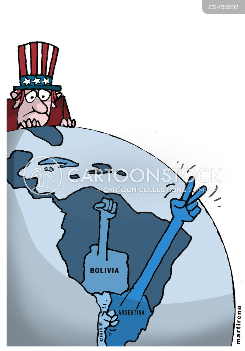 left wing politics cartoon