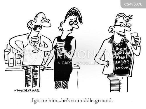 middle ground cartoon