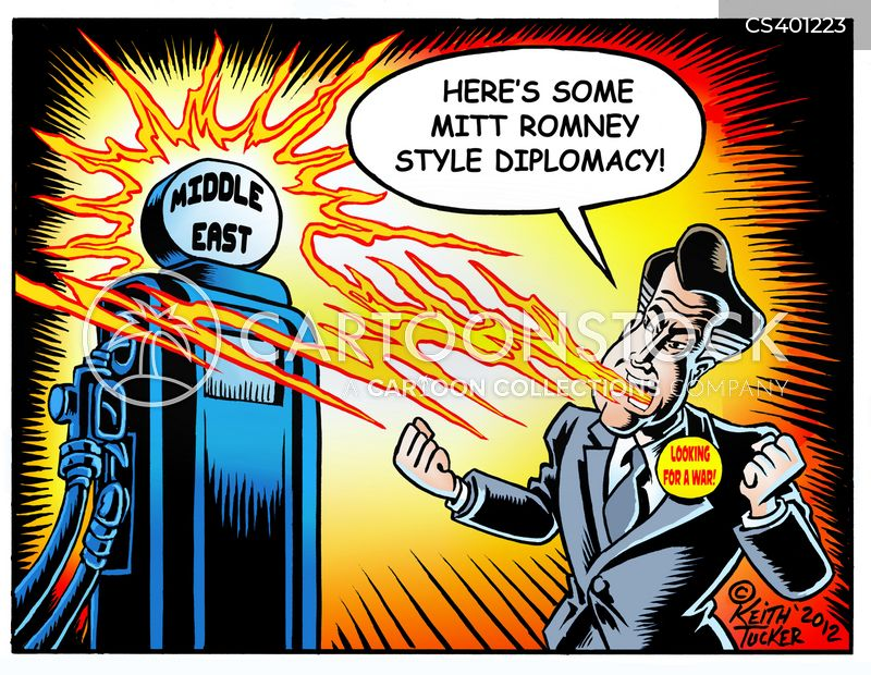 mitt romney 2012 cartoon
