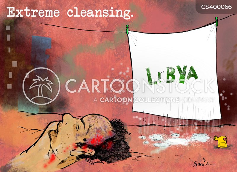 libyans cartoon