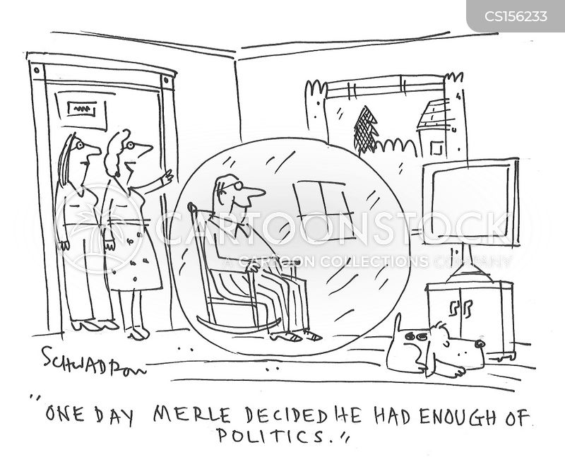 live in a bubble cartoon