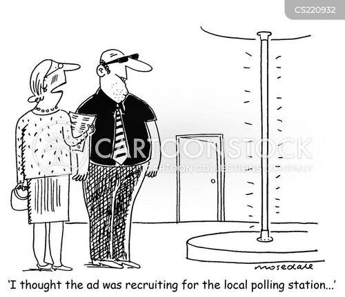 local election cartoon