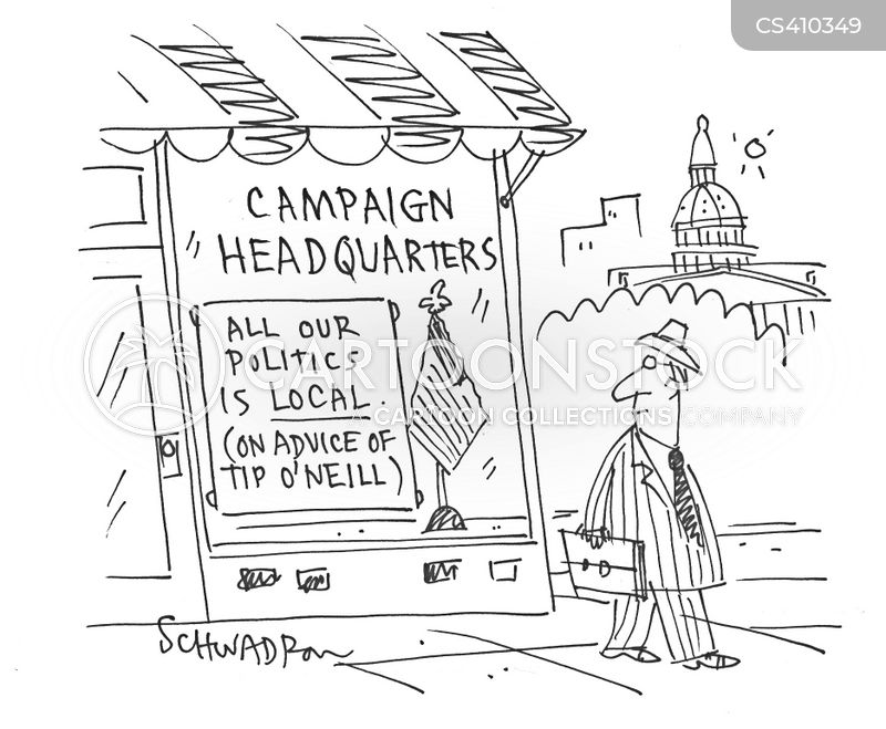 local politics cartoon