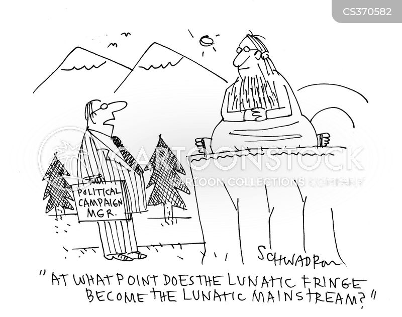 lunatics cartoon