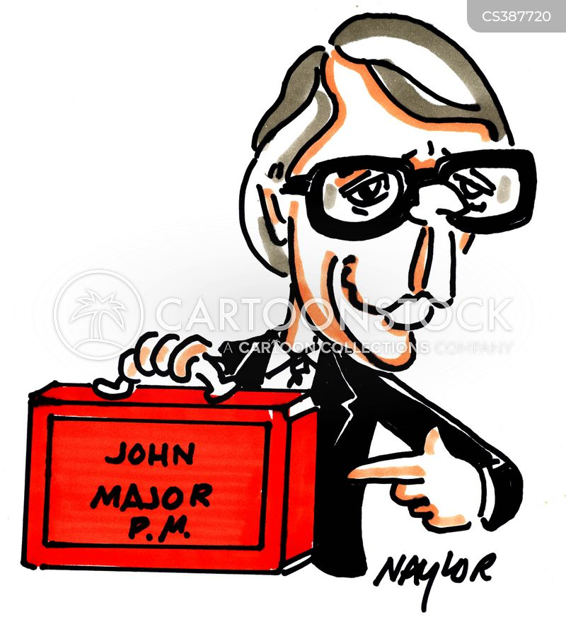 john major cartoon