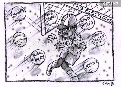 front-runner cartoon