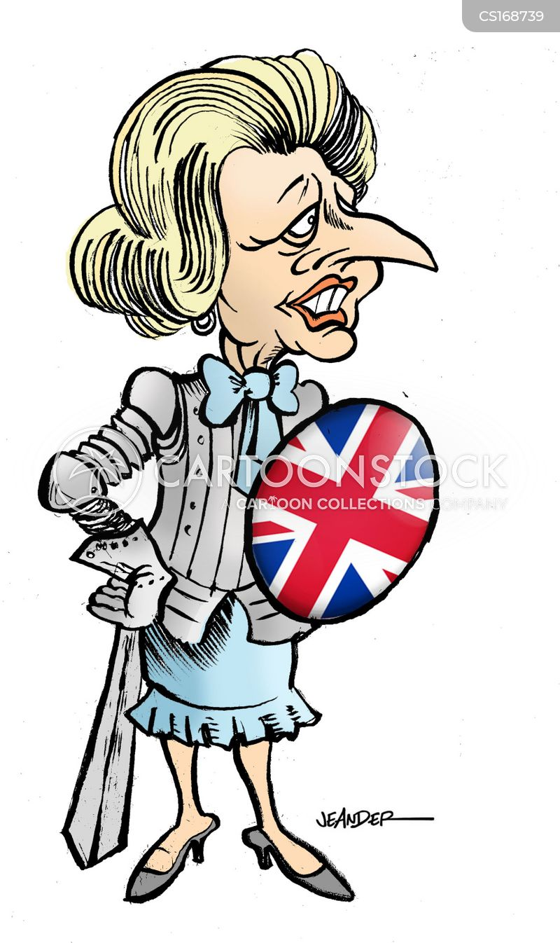 Image result for Margaret Thatcher CARTOON