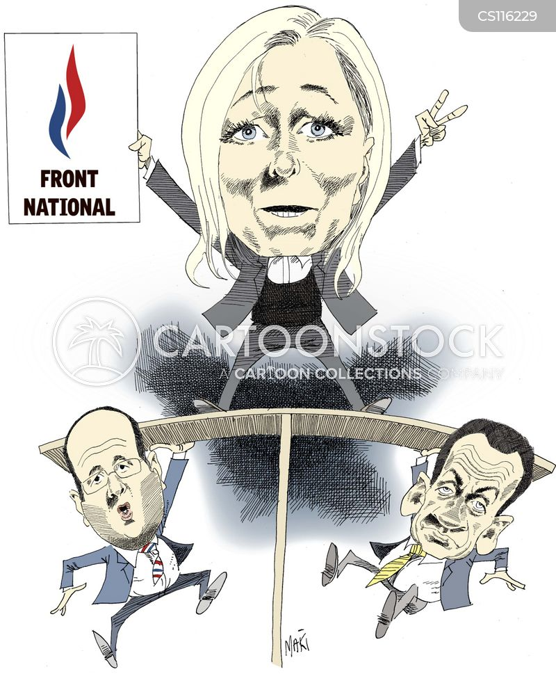 french politics cartoon