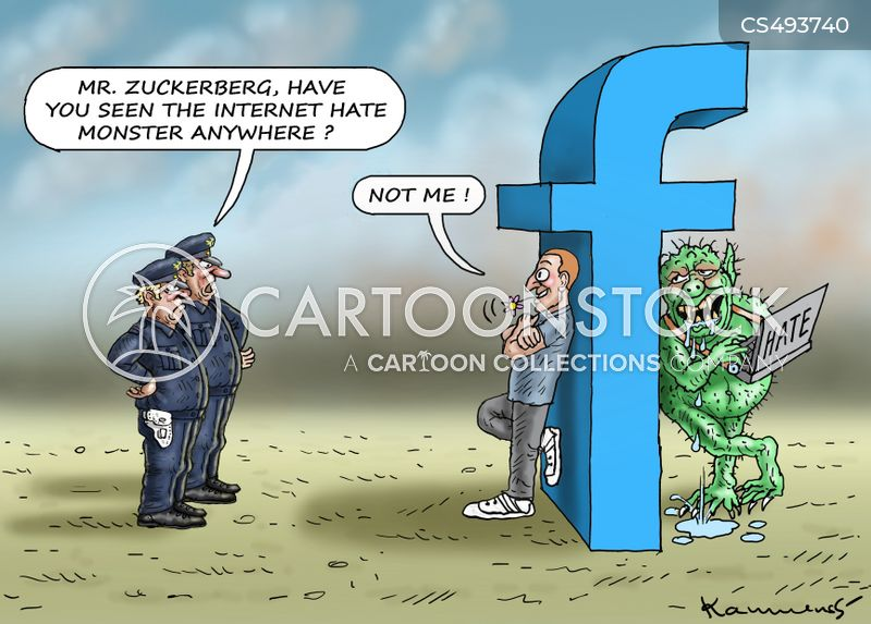 mark zuckerberg cartoon