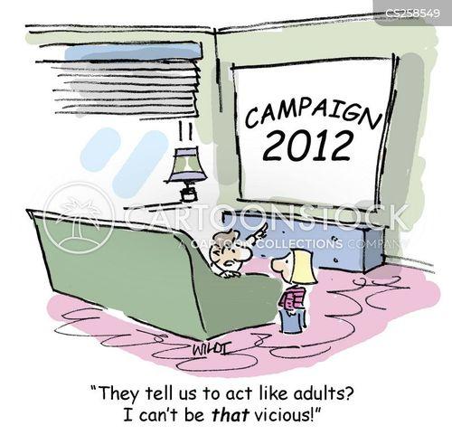 slanderer cartoon