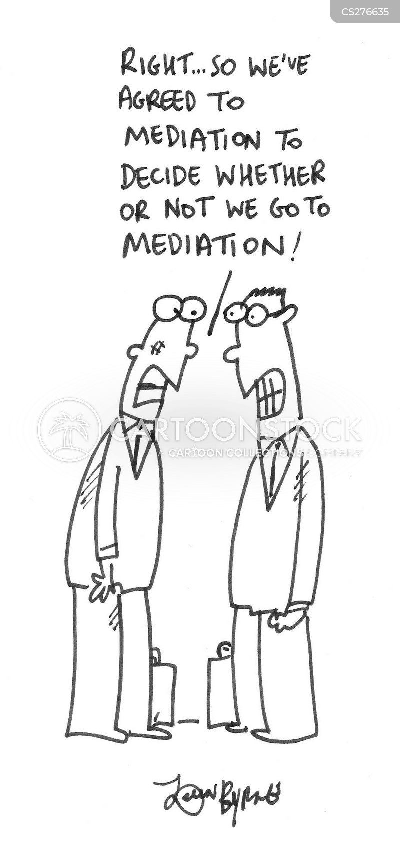 mediator cartoon