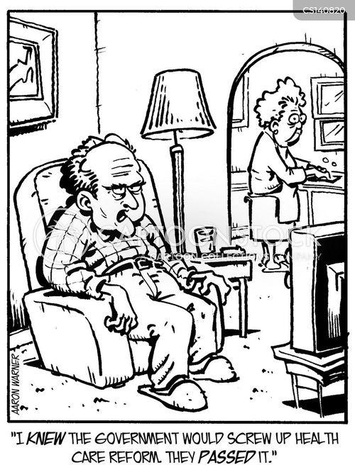 health care reform cartoon