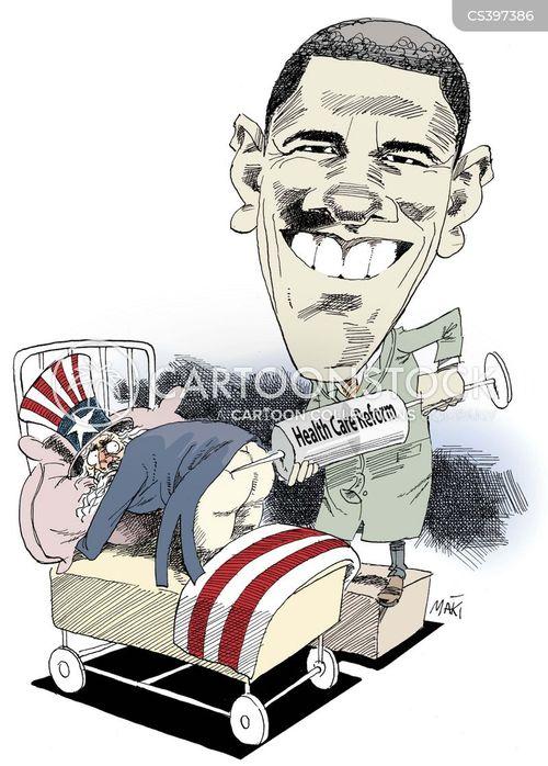 health system cartoon