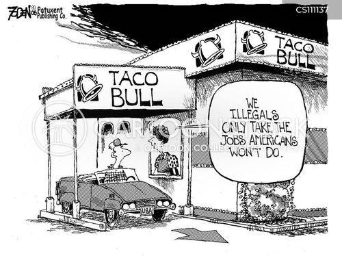 migrant workers cartoon