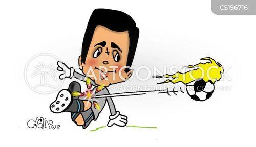 deflecting cartoon