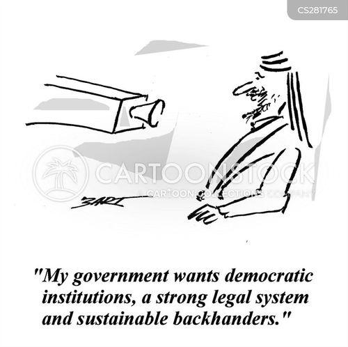 foreign aid cartoon