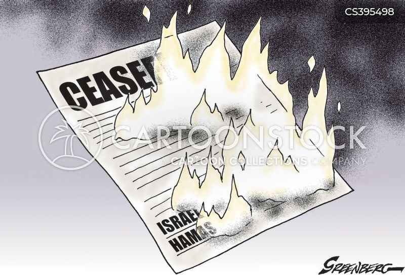 cease fire cartoon