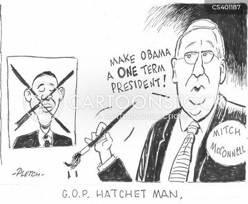minority leader cartoon