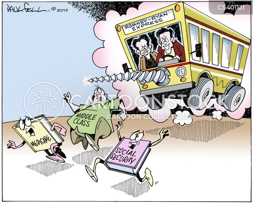 running mate cartoon